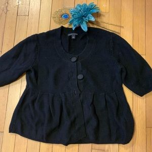 Banana Republic babydoll sweater size L